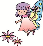 妖精 クリップアート プリントアウトファクトリー Myricoh