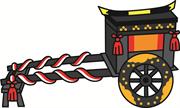 ひな祭り 牛車