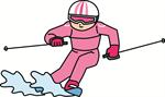 スキー 回転 スラローム