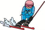 スキー スーパーG