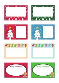 ハッピーホリデー&クリスマスカード